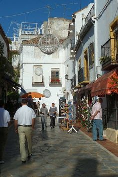 Marbella – A street in the Old Town