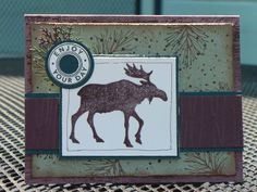 Moose Lodge Birthday by papierbleu - Cards and Paper Crafts at Splitcoaststampers