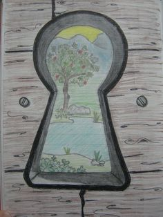 Through The Keyhole by Larry-the-cucumber on deviantART