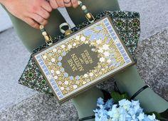 A Jane Austen Seven Novels book purse.