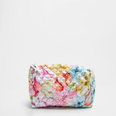 Zara Home New Collection Zara Home Collection, Home Fragrances, Toiletry Bag, Floral Tie, Floral Prints, Silk, Bags, Accessories, Fashion