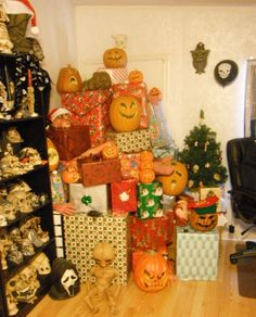 Indoor Christmas Display