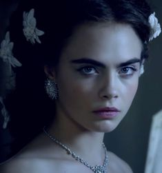 """Cara Delevingne in the short film """"Reincarnation"""" for the House of Chanel. A film by Karl Lagerfeld."""