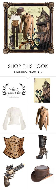 """Steampunk Chic"" by amber-south-brink on Polyvore featuring Jonathan Simkhai, HADES and Overland Sheepskin Co."