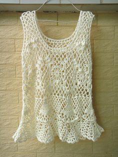 Handmade Crochet Tank Top