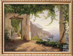 Amalfi Cappuccini, by Carl Frederic Aagaard