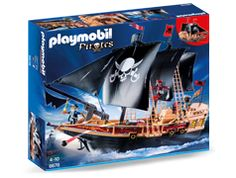 "Playmobil - Pirate Raiders' Ship - Playmobil - Toys""R""Us Play Mobile, Playmobil Pirates, Playmobil Toys, Toys R Us, Raiders, Kids Pirate Ship, Bateau Pirate, New Kids Toys, Pirate Adventure"