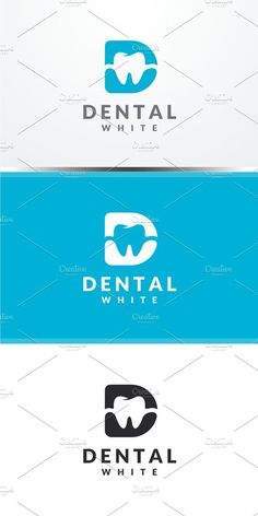 Dental - Letter D Logo. Dental Clinic Logo, Dentist Logo, Dentist Clinic, Logo Design Template, Custom Logo Design, Logo Templates, You Smile, Dental Design, Clinic Design