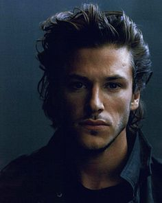 Gaspard Ulliel. how id love to run my hands through that thick head of gorgeous hair.