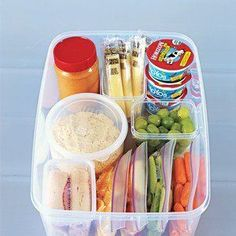 snack basket Think Husband lunch!