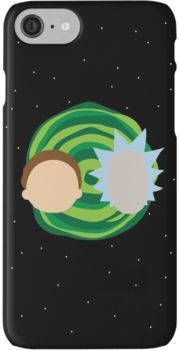 Rick and Morty Minimalist iPhone 7 Cases
