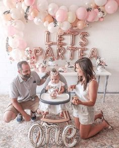 First birthday tea party lets partea girl birthday birthday girl party ideas. More in my web site First birthday tea party lets partea girl birthday decor First birthday tea party lets partea girl . Baby Girl Birthday Decorations, 1st Birthday Party For Girls, Pink Party Decorations, Girl Birthday Themes, Tea Party Birthday, 1st Birthday Girl Party Ideas, 1st Birthday Outfit Girl, 1st Birthday Balloons, One Year Birthday