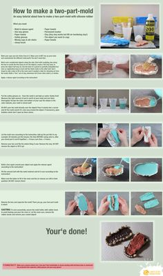 How to make a two-part mold by ~LimitlessEndeavours on deviantART