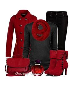 I love the color red. I really do. Year-round, for everything.