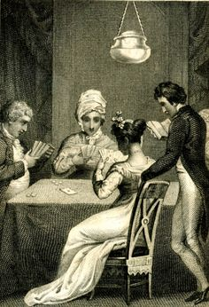 Illustration from Hoyle's Games (1817)
