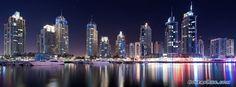 Marina Reflections Dubai Facebook Timeline Cover