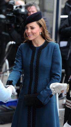The Royal Family visits Baker Street station