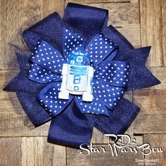Star Wars R2D2 Boutique Bow!  Happy May the 4th!