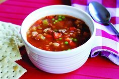 vegetable beef soup with barley