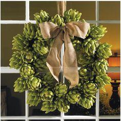Artichoke Wreath