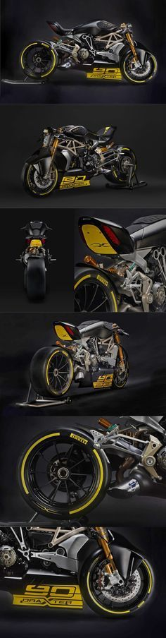 Ducati Diavel DraXter - Return of the Cafe Racers