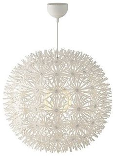 """Want one!  MASKROS Pendant Lamp - $49.99 »   The Maskros Pendant Lamp is available in a 22"""" diameter size and a 32"""" diameter size. The shade is made of paper"""