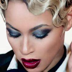 Beyonce haunted smokey eye