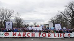 "March for Life 2017 covered by ""The Blaze"" the time lapse video is super cool"