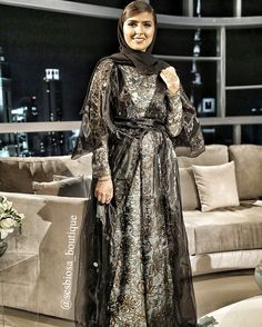 Amira Mohd wearing one of our Arab Swag, Abayas, Desi, Celebrity, Couture, Boutique, Tv, Formal Dresses, How To Wear