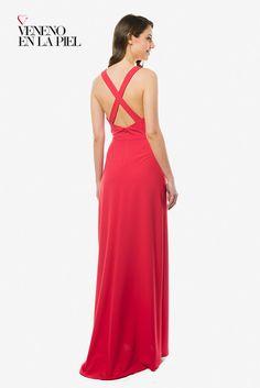 1a1151b07 Vestido largo de invitada de Veneno en la Piel