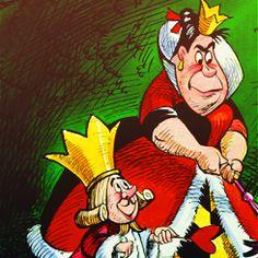 *KING & QUEEN of HEARTS ~ Alice in Wonderland