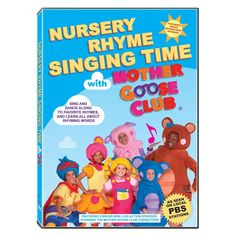 Nursery Rhyme Singing Time With Mother Goose Club Dvd Movies Tv