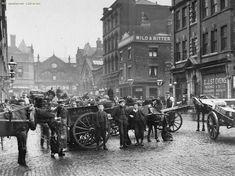Markets, Smithfield Market, High Street entrance, Manchester