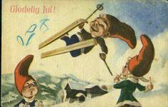 Julekort Jørgen Thorsrud utg Børrehaug og Rønning Christmas Postcards, Norway, Painting, Art, Art Background, Painting Art, Kunst, Paintings, Performing Arts