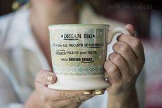 Kelly Rae Roberts Mug-Dream Big | Garden Gallery Iron Works