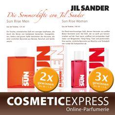 Mach mit bei unserem #Gewinnspiel auf #Facebook und gewinne einen #Jil #Sander Sun Rise Duft!