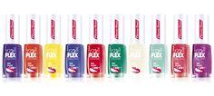 LAKIER TOP FLEX - Kolekcja LATO 2013 / Summer 2013 Collection  W letniej kolekcji lakierów Top Flex znajdują się najmodniejsze kolory na lato.