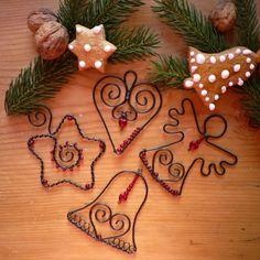 sada vánočních ozdob