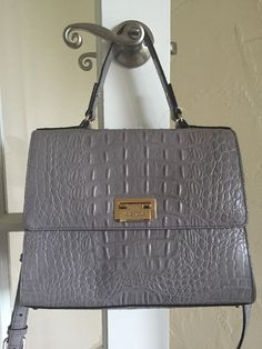 Kate Spade Orchard Valley Doris Satchel Cliff Grey #KateSpade #Satchel