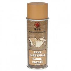 Farba Wojskowa Spray MFH 400ml Coyote