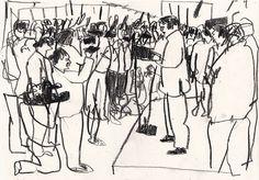 Election Drawings, Topolski Studio - Matt Booker