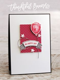 Teneale Williams | Stampin' Up! Thoughtful Banners and Balloon Builders Stamp Set