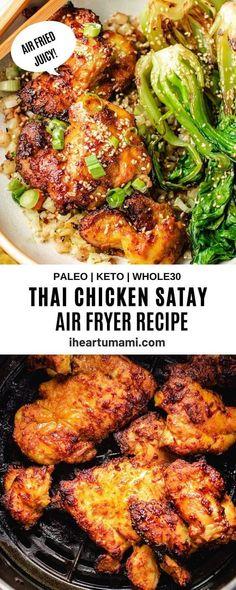 Kitchen Recipes, Paleo Recipes, Asian Recipes, Cooking Recipes, Thai Recipes, Paleo Chicken Recipes, Turkey Recipes, Free Recipes, Whole 30 Chicken Recipes