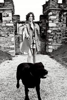 Keira Knightley photographed by Ellen von Unwerth for Vogue UK, 2011
