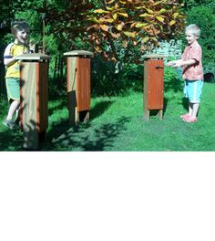 Outdoor Musical Instruments - Tongue Drums