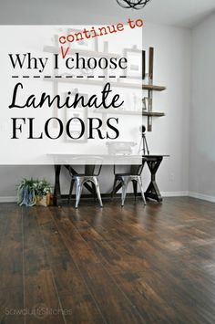 Why I chose Wood Laminate, AGAIN! - Sawdust 2 Stitches