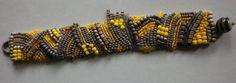 Glasperlenarmbänder - gesticktes Perlenarmband.. Eirene... - ein Designerstück von sibea bei DaWanda