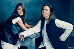 Phoebe Philo  Photographed by Norman Jean Roy