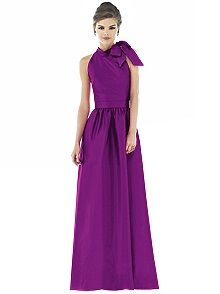 Alfred Sung Style D533. I LOVE THIS BRIDESMAID DRESSSS! :) (just wish they had a blush pink...)