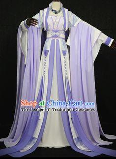 Truyền thống ăn mặc của Trung Quốc Châu Á Quần Quốc Hanfu Costume Han Trung Quốc Phong cách phục Robe Trang phục triều cổ đại Dresses Complete Set Phụ nữ